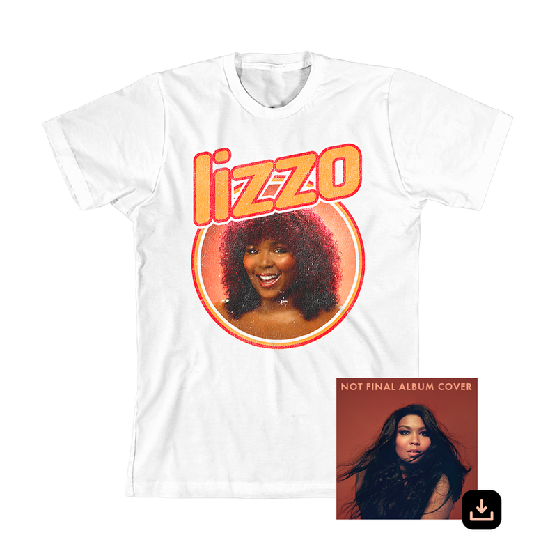 Lizzo T-shirt + Digital Album