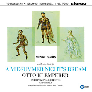 Otto Klemperer – Mendelssohn: A Midsummer Night's Dream (Vinyl) | Otto Klemperer