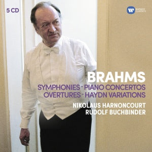 Brahms: Symphonies, Overtures, Haydn Variations, Piano Concertos | Nikolaus Harnoncourt