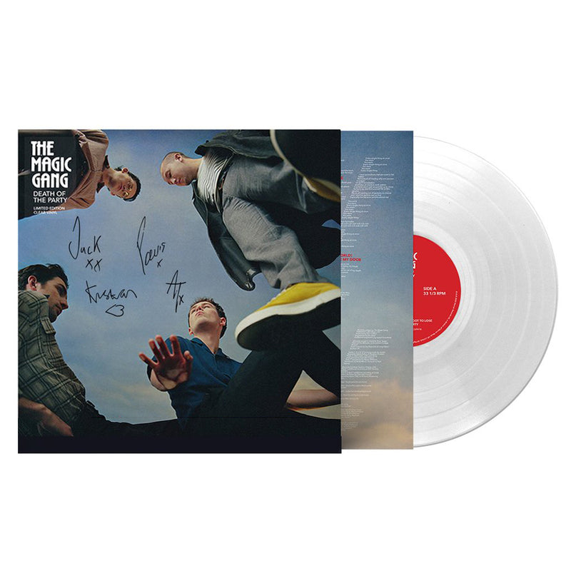 Death of the Party Signed Clear Vinyl
