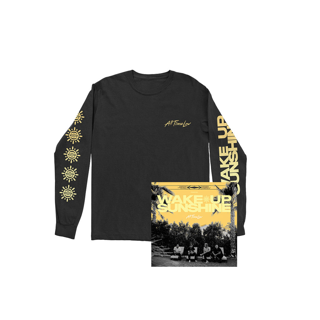 Sunshine Long Sleeve (Black) + Digital Album