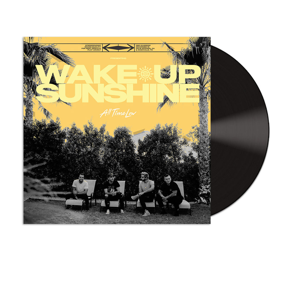 Wake Up Sunshine Vinyl (Black)