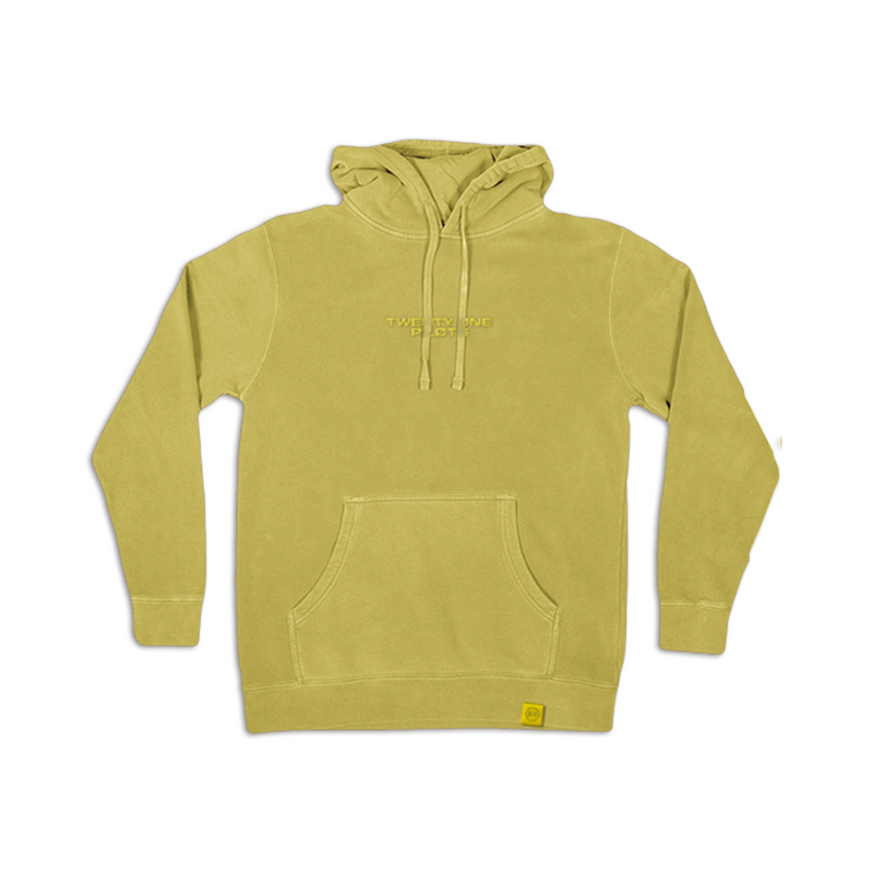 Embroidered Logo Hoodie (yellow)