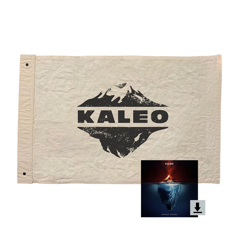 KALEO Flag + Digital Album
