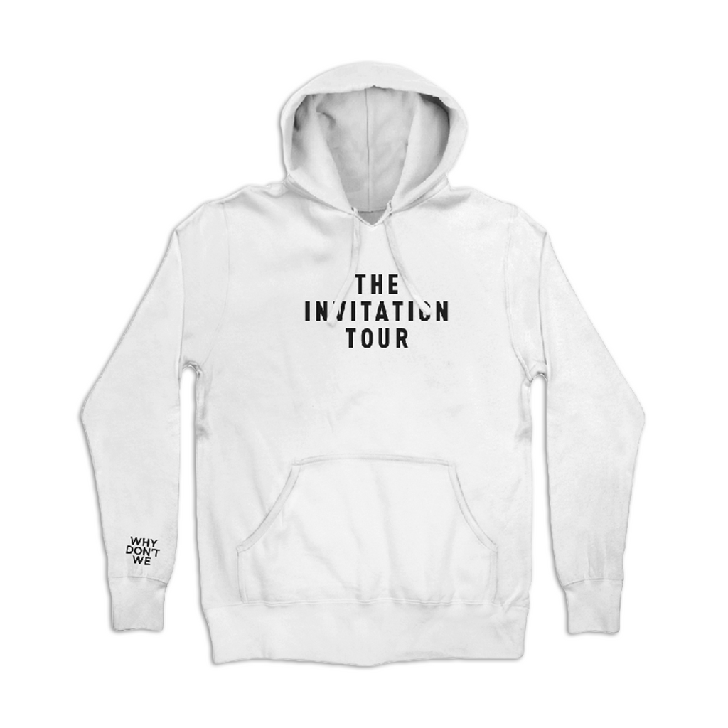 Invitation Tour Hoodie (White)