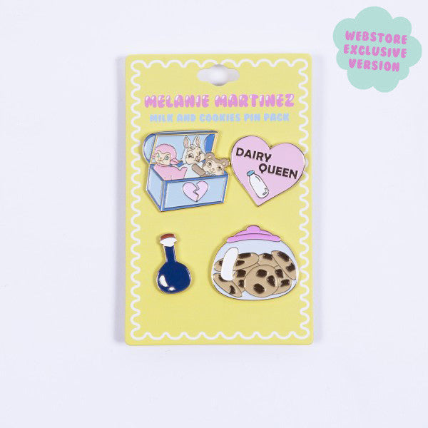 Milk & Cookies Pin Pack