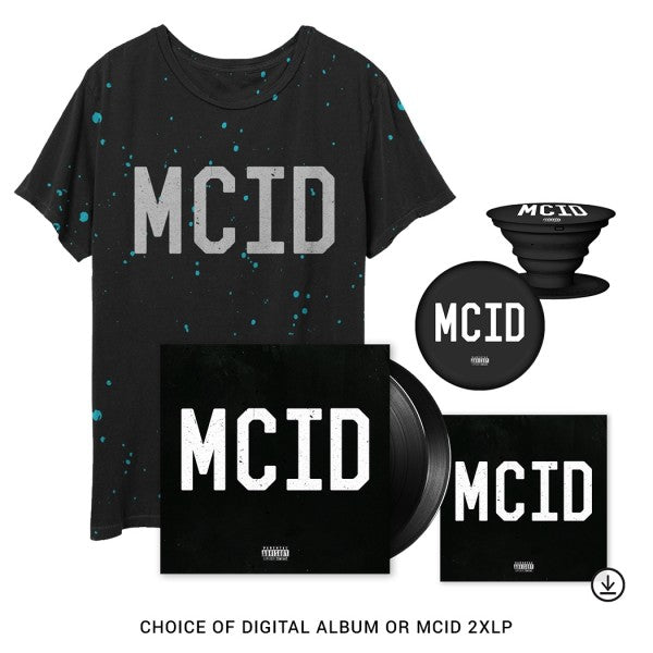 MCID Album + T-Shirt Bundle