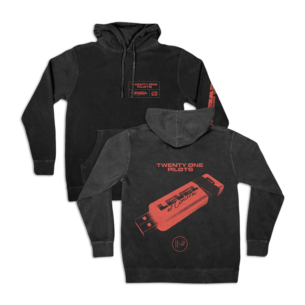 Mono Black Hoodie + Level Of Concern Download