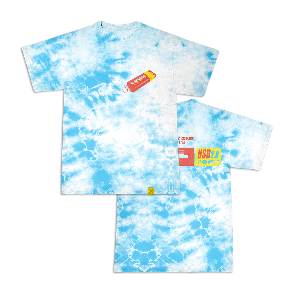 Flash Blue Wash TShirt + Level Of Concern Download