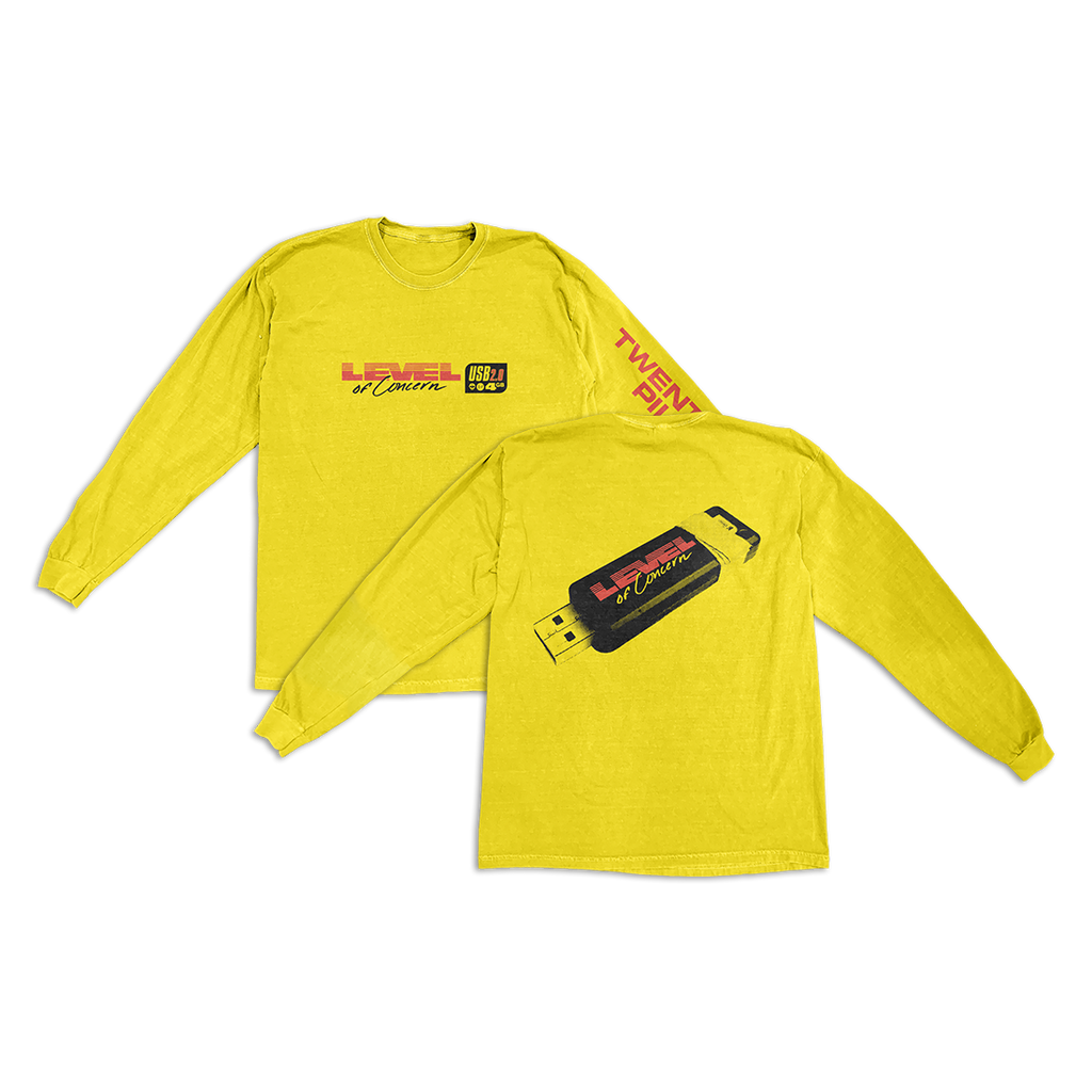 Yellow Tech Long Sleeve TShirt + Level Of Concern Download