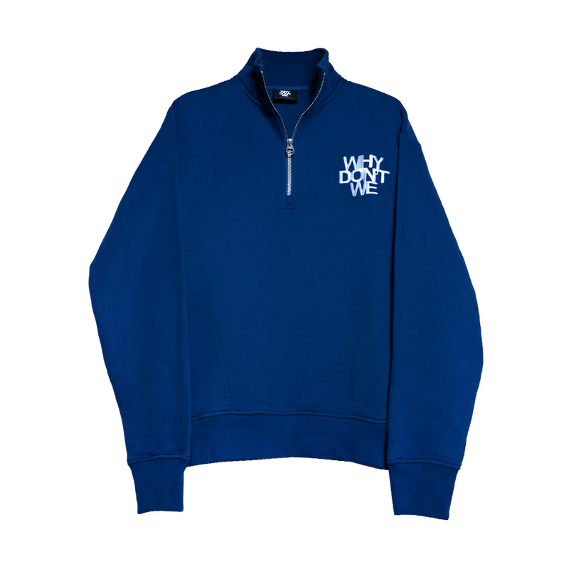 Why Don't We Quarter Zip Fleece (Navy)