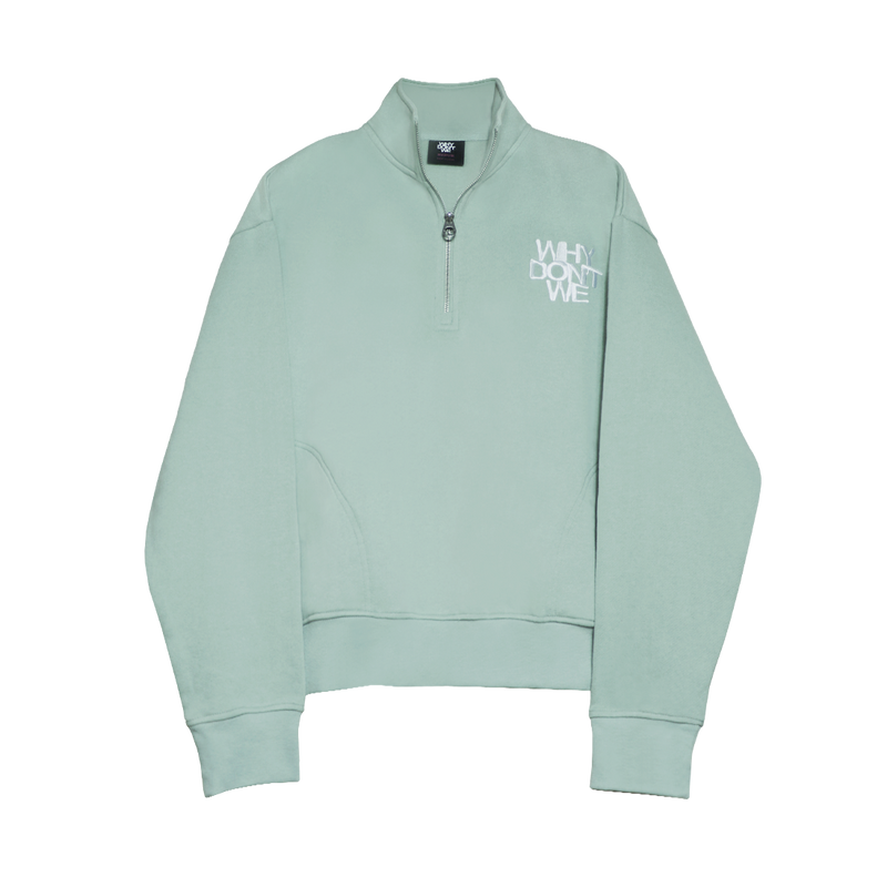 Why Don't We Quarter Zip Fleece (Green)