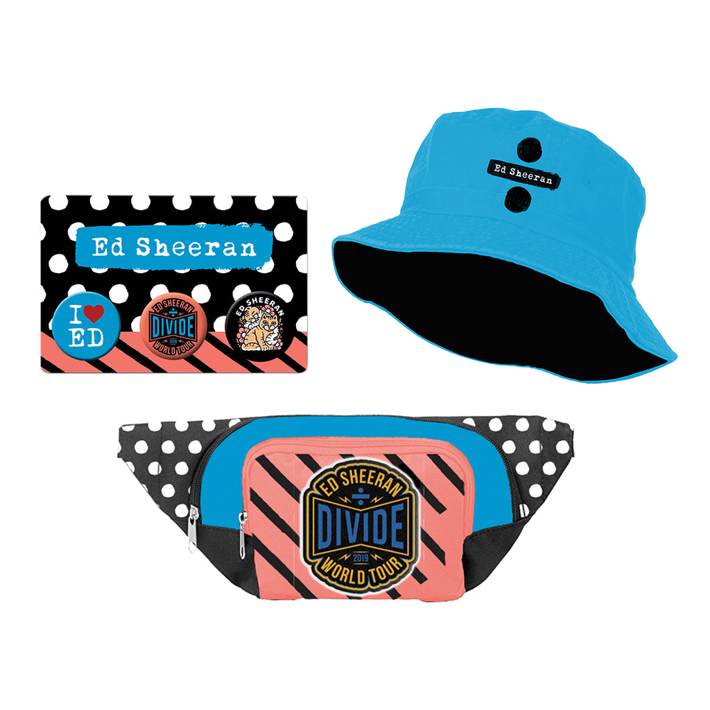 Divide World Tour Bucket Hat Bundle