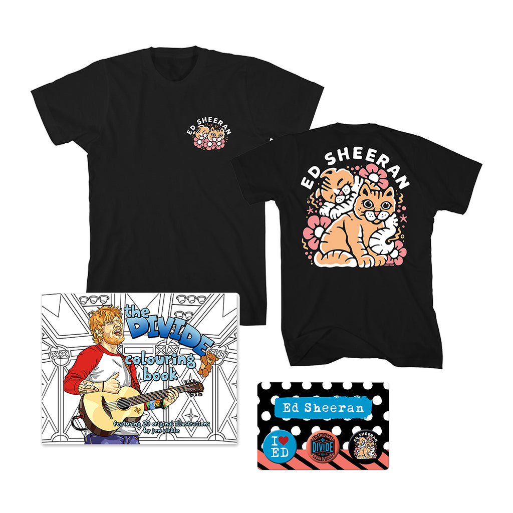 Divide World Tour Colouring Book Bundle