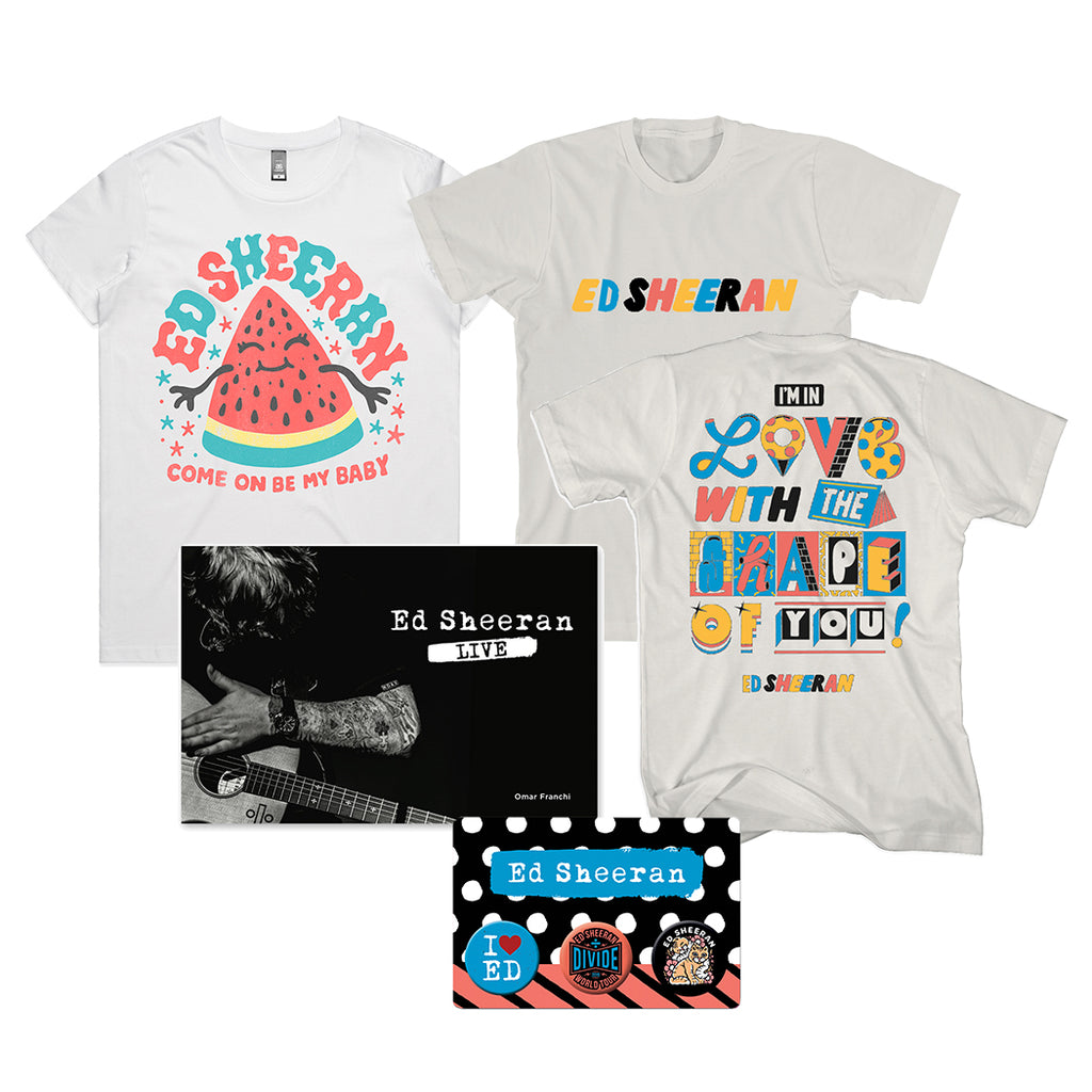 Divide World Tour T-shirt Bundle