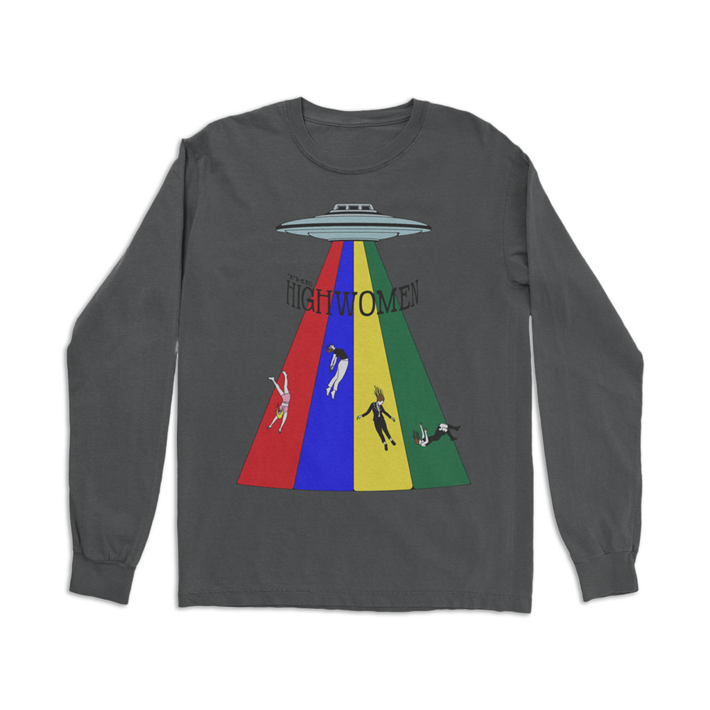 Multi Color Beam Long Sleeve Tshirt