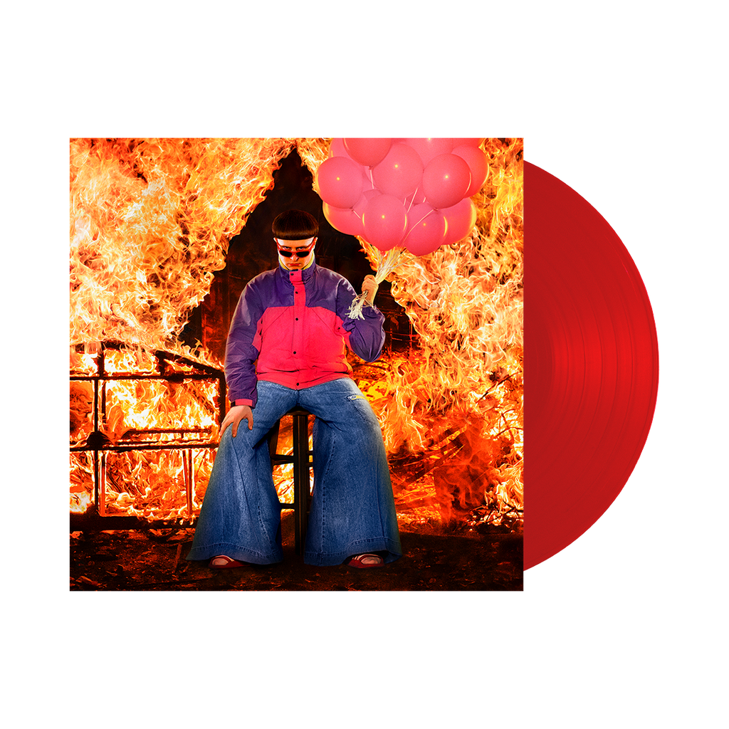Ugly is Beautiful Translucent Red Vinyl