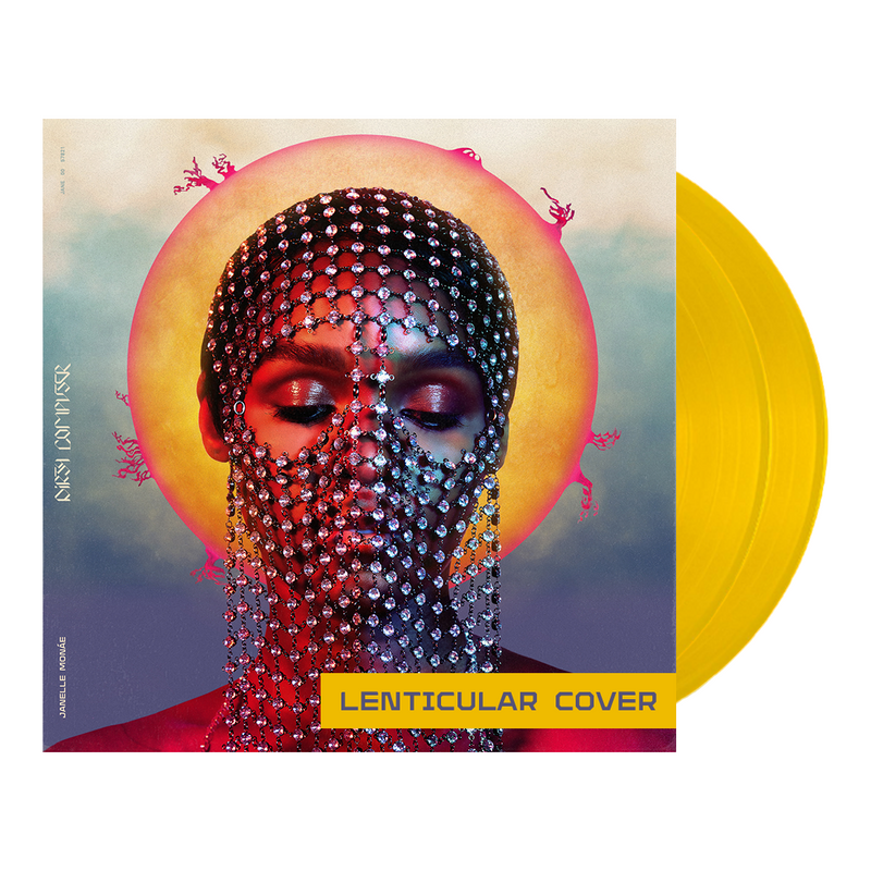 Dirty Computer (2LP Color Vinyl w/Lenticular Cover)