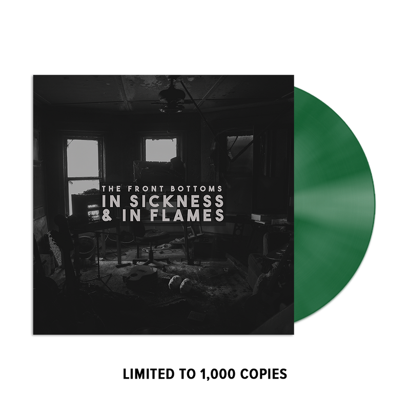 In Sickness & In Flames Vinyl (Evergreen) + Digital Album