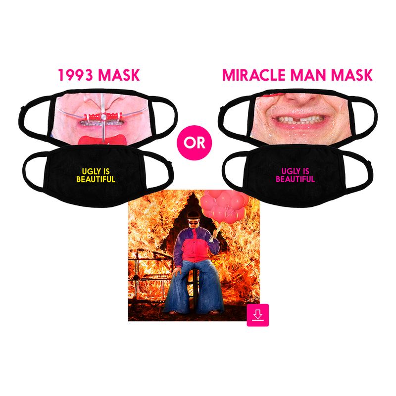 Ugly is Beautiful Reversible Facemask Bundle