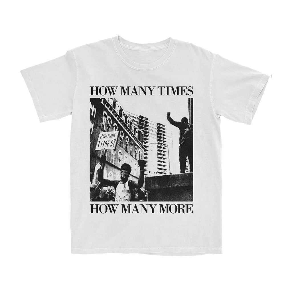 How Many Times White T-Shirt