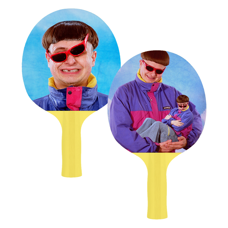Oliver Tree Beach Pong Paddle Set