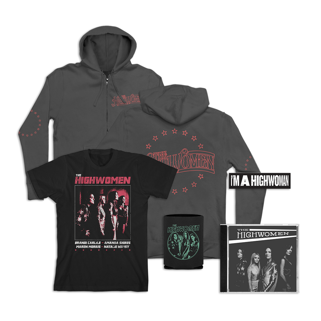 Album Package B: Hoodie + Photo Tee  + Sticker + Koozie