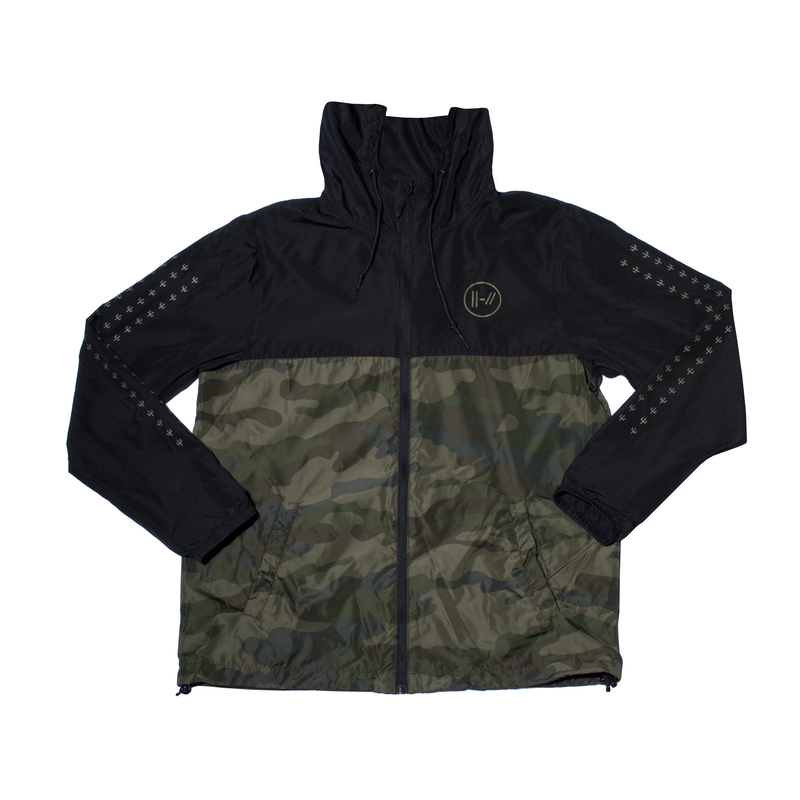 Surplus Camo Windbreaker