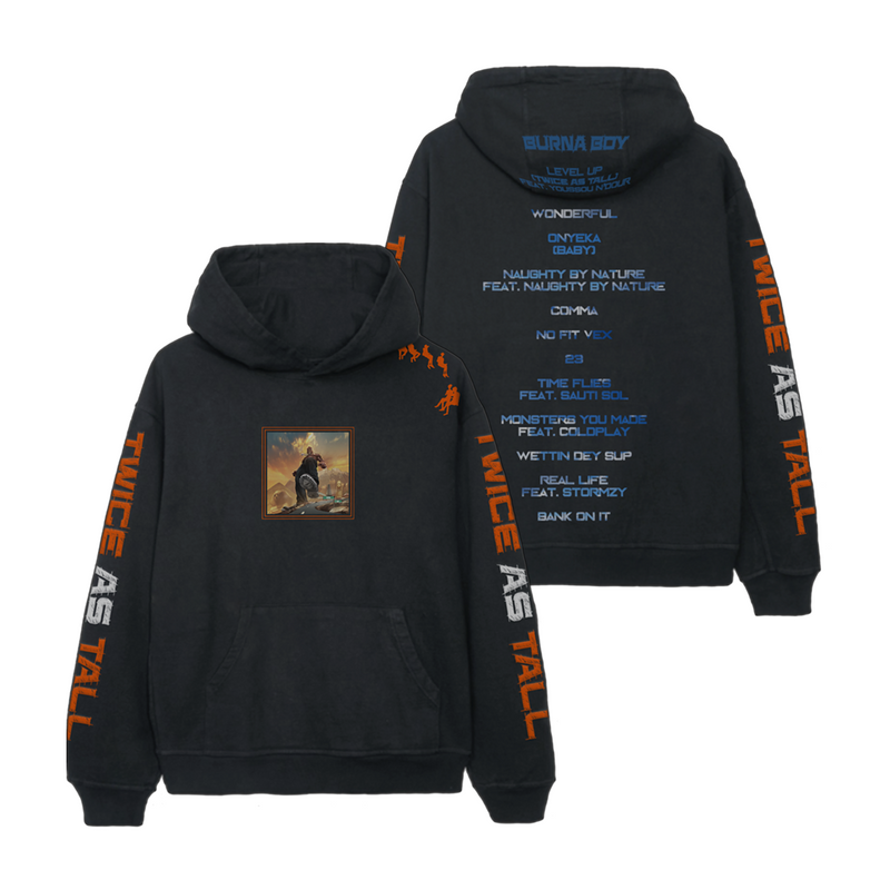 Twice As Tall Hoodie (Black)