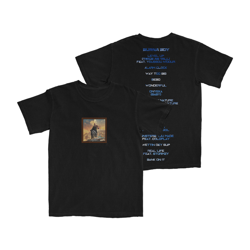Twice As Tall T-Shirt (Black) + Digital Album