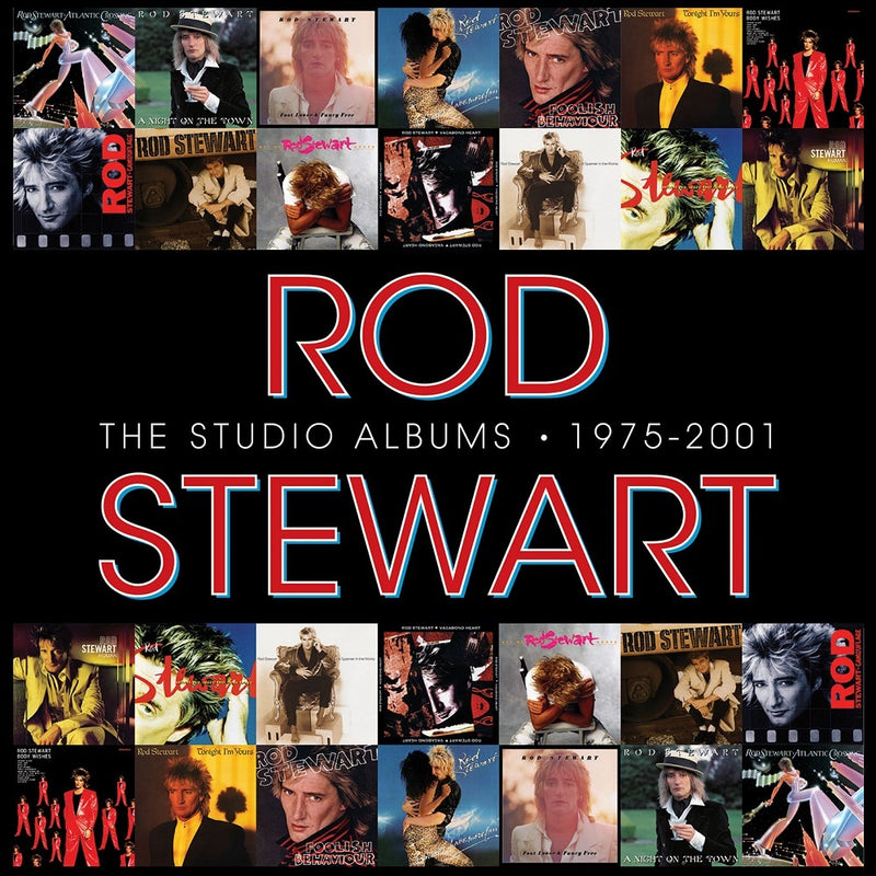 The Studio Albums 1975-2001 (CD Box Set)