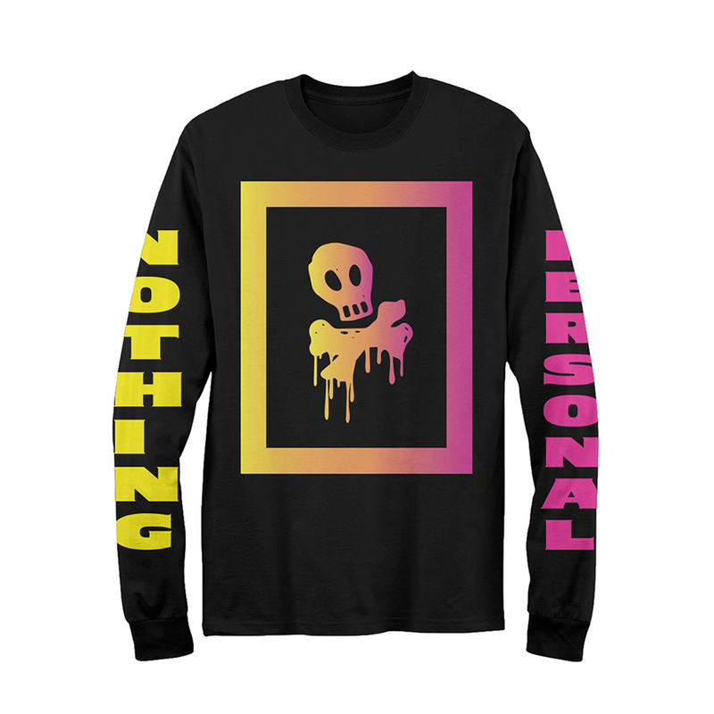 Nothing Personal Box Skull Long Sleeve (Black)