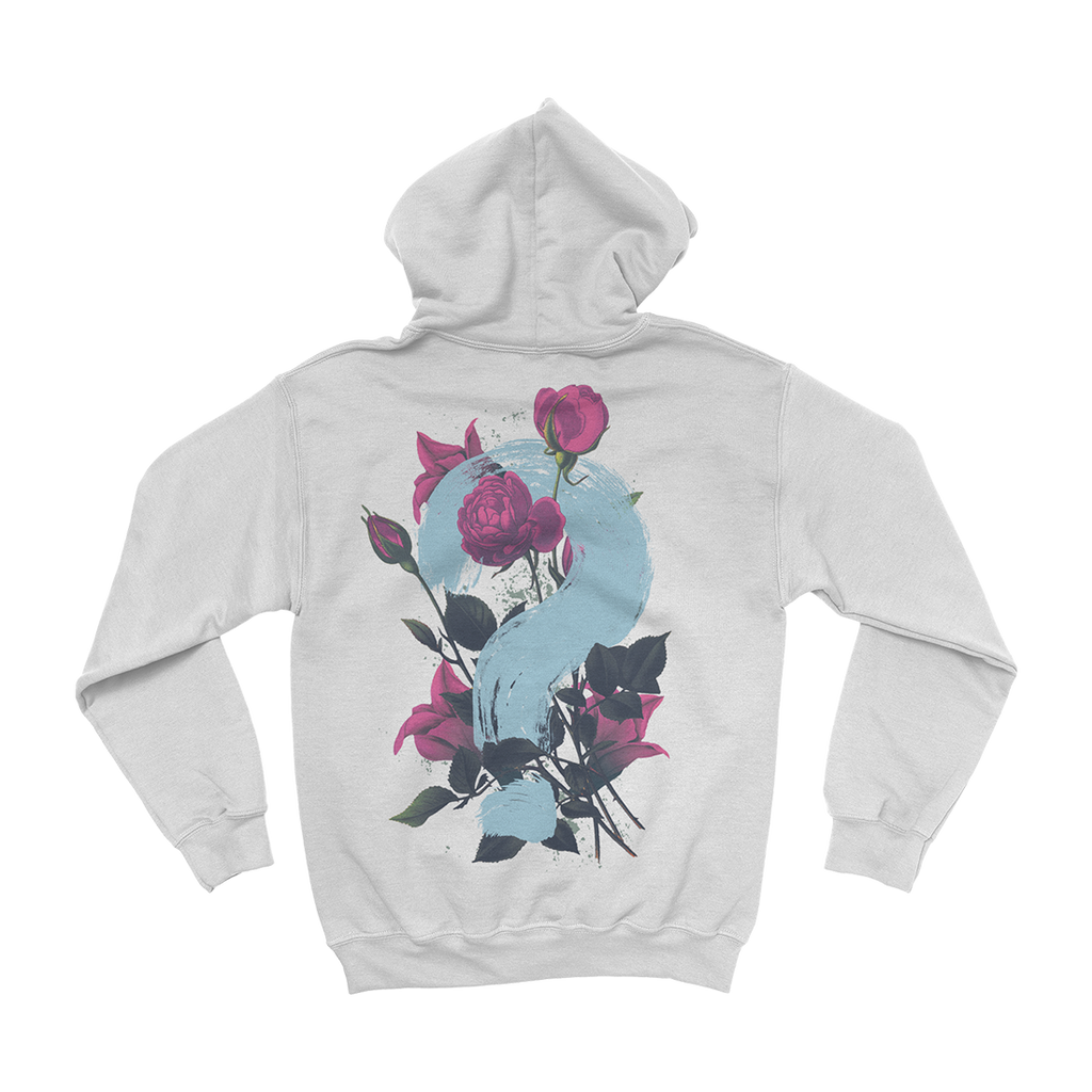 Flower Square Pullover Hoodie