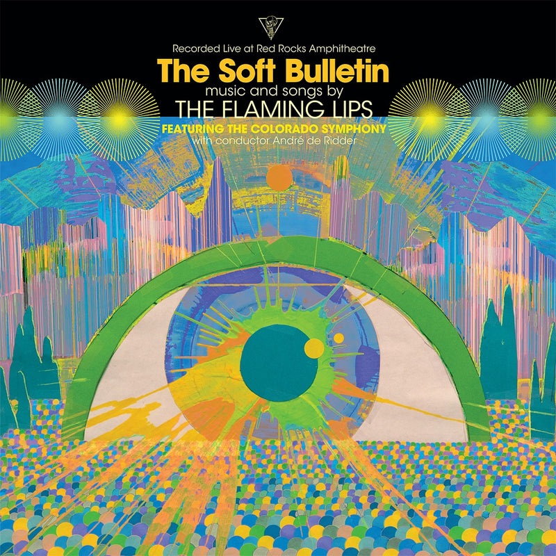 Live Bulletin T-Shirt + The Soft Bulletin: Live at Red Rocks Vinyl LP