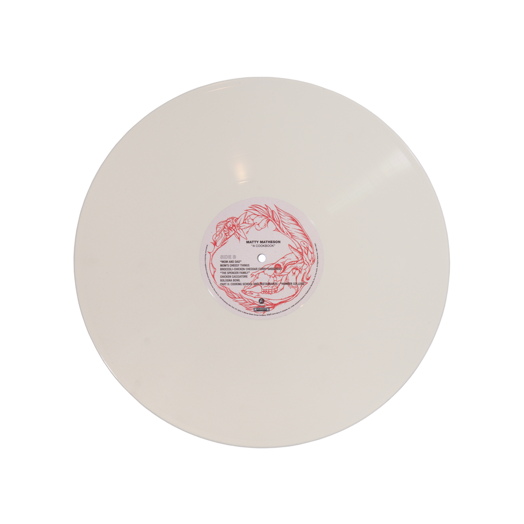 'A Cookbook' 2LP White Vinyl w/ Zine