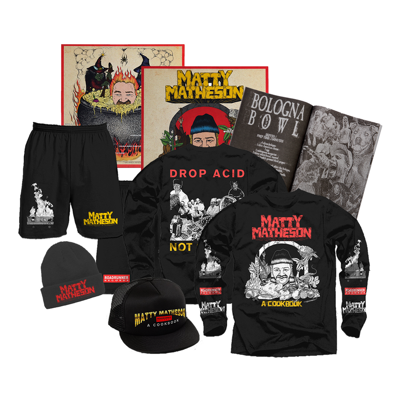 Ultimate Feast Vinyl Bundle: Vinyl w/ Zine + Longsleeve + Shorts + Beanie + Trucker Hat