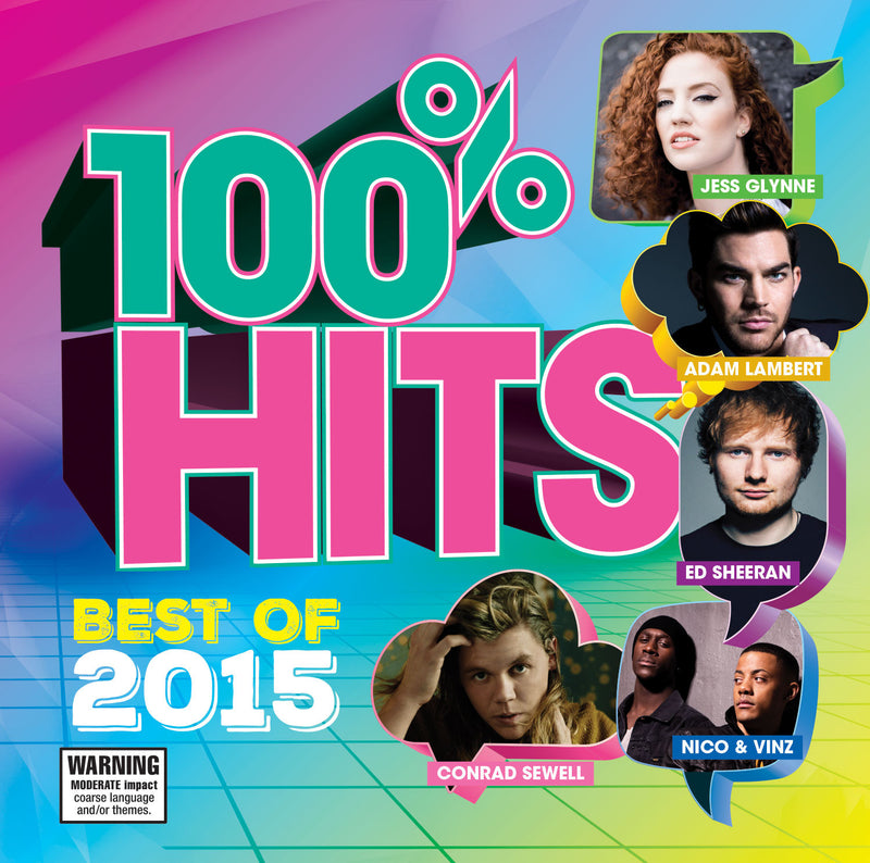 100% HITS BEST OF 2015 (CD)