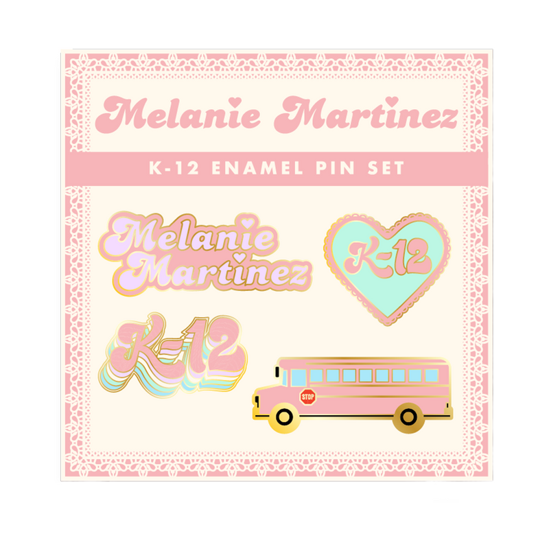 K12 Enamel Pin Set