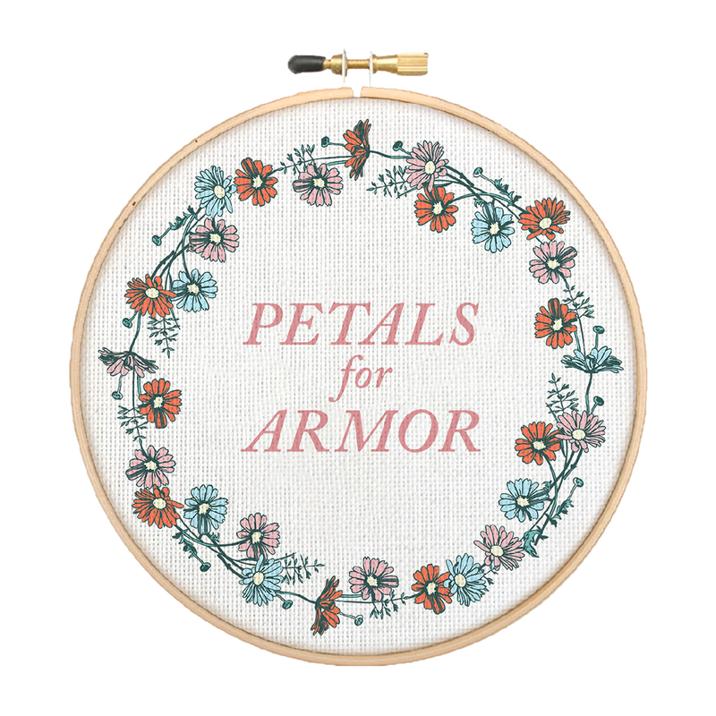 Petals Embroidery Kit