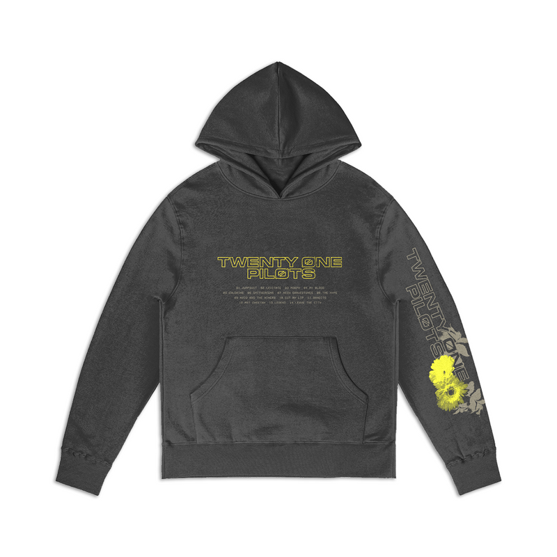 Trench Tracklist Hoodie