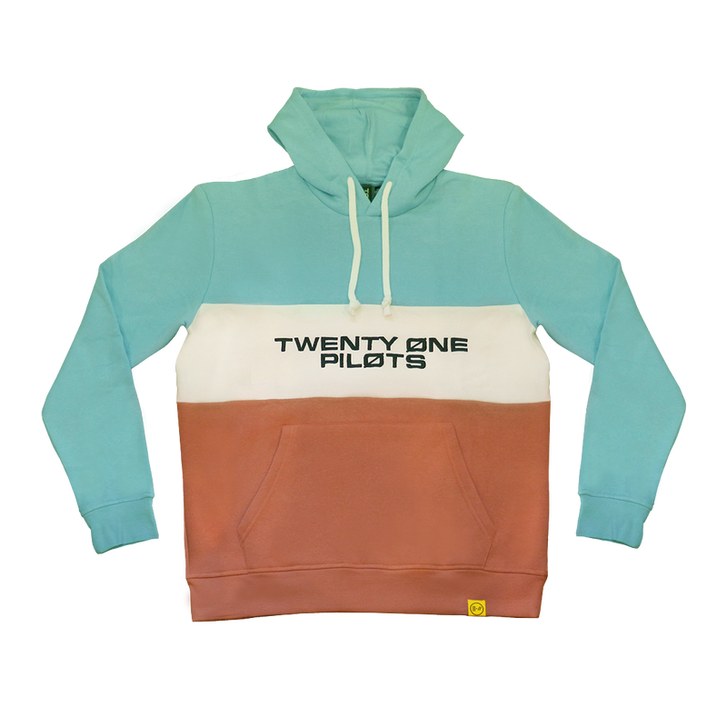 Color Block Hoodie (Blue)