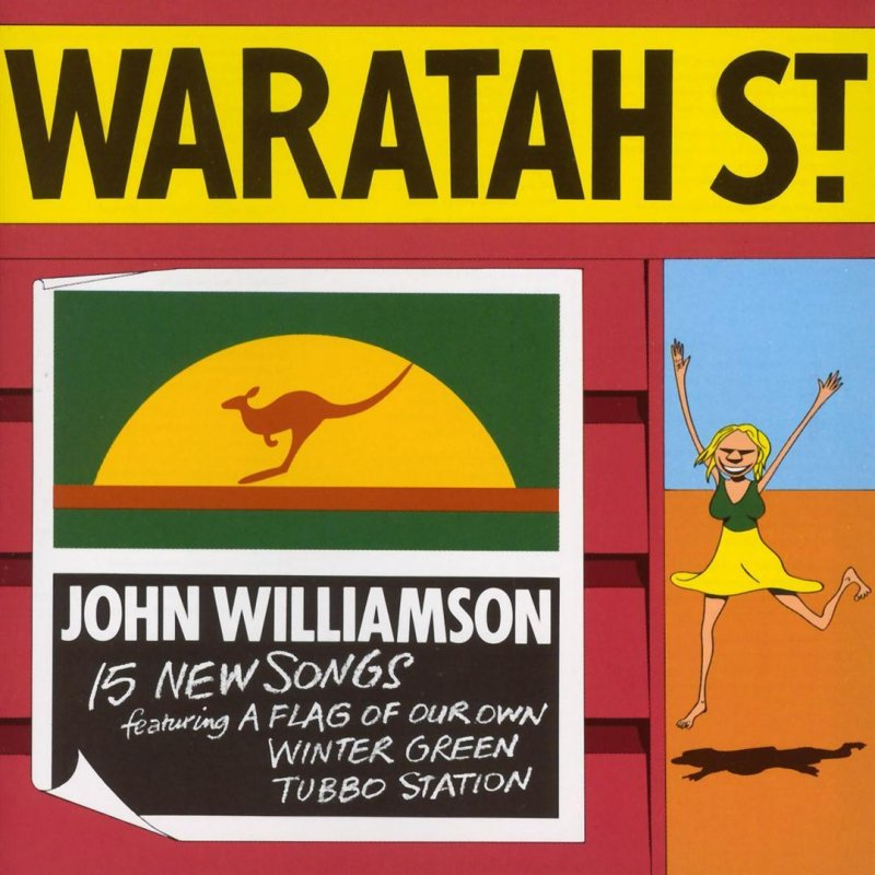 Waratah St. (CD) | John Williamson