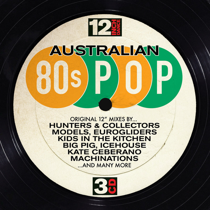 12 Inch Dance: Australian 8-s Pop (3CD)