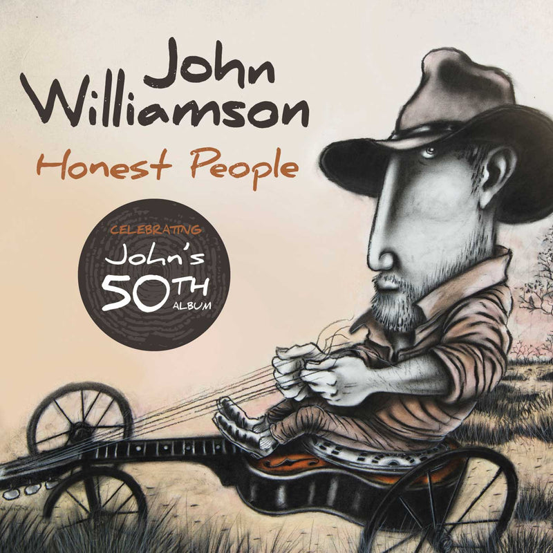 Honest People (CD) | John Williamson