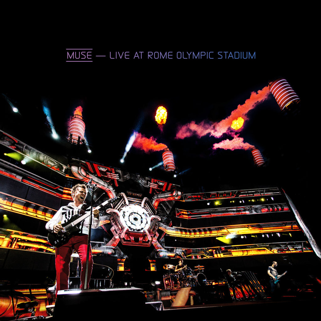 Live At Rome Olympic Stadium (CD/Blu-Ray)