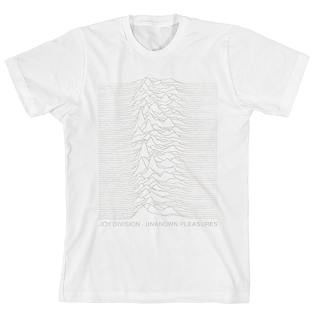 Unknown Pleasures (40th Anniversary T-Shirt)