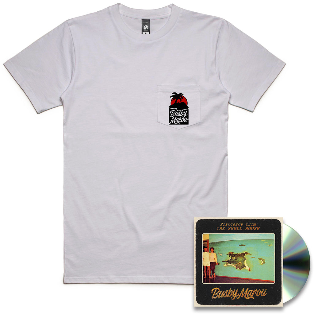 Postcards from the Shell House (CD + T-Shirt)