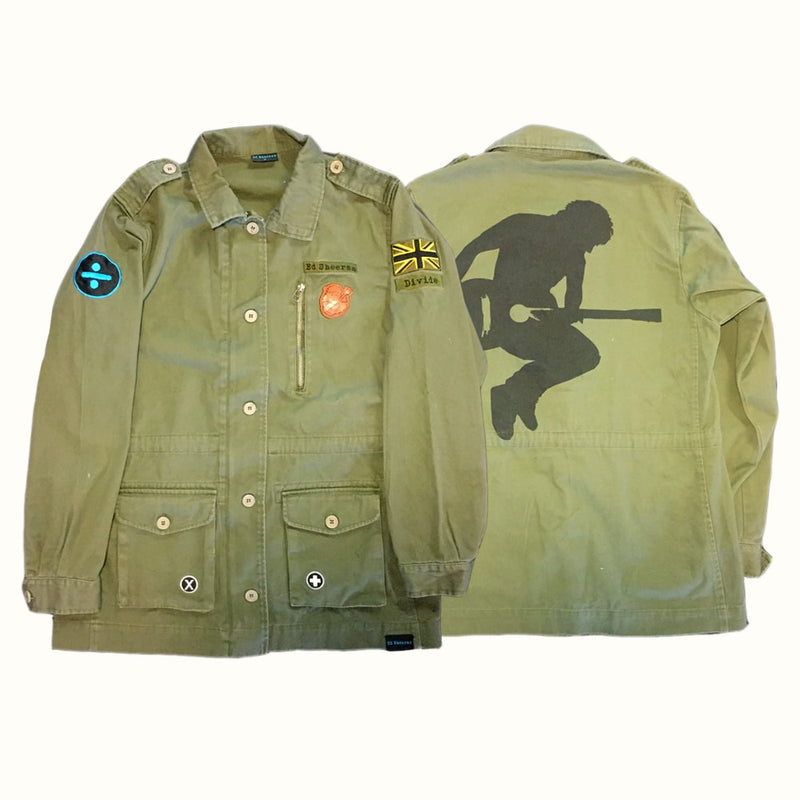 Divide Military Patch Jacket