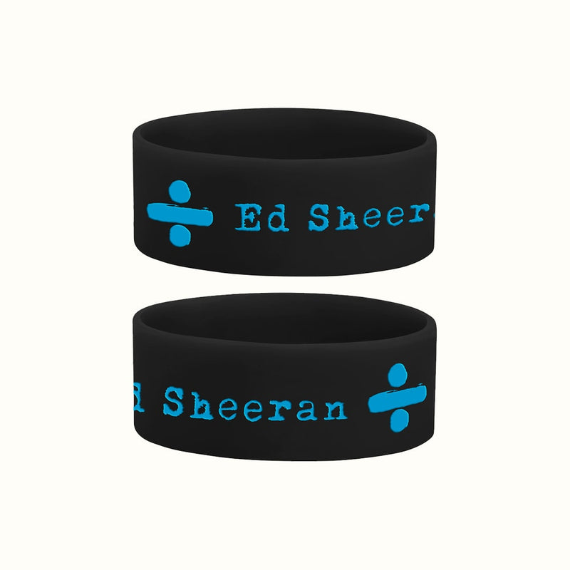 Black Rubber Wristband