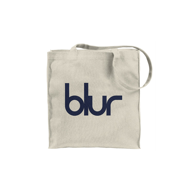 Blur Tote Bag White